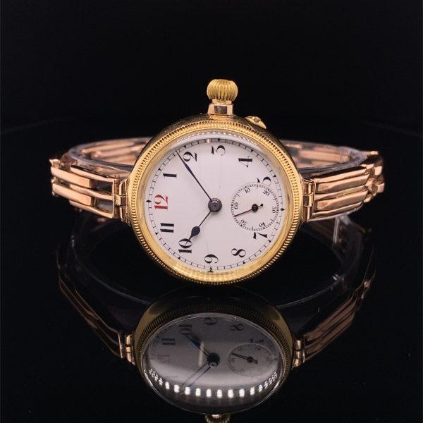 Francois Borgel 1912 Wrist Watch