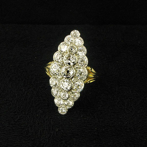 Victorian Marquise Shaped Ring