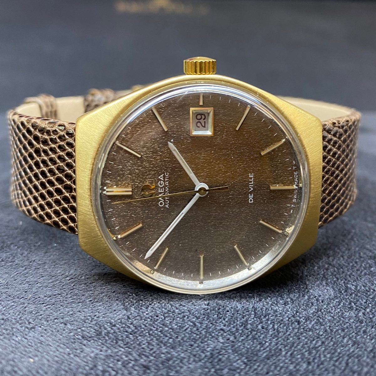 Omega DeVille with Bronze Dial