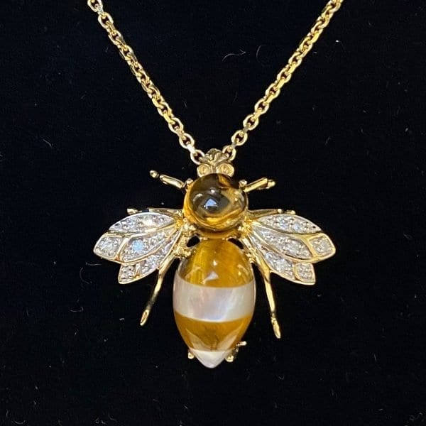 Bee Brooch Pendant