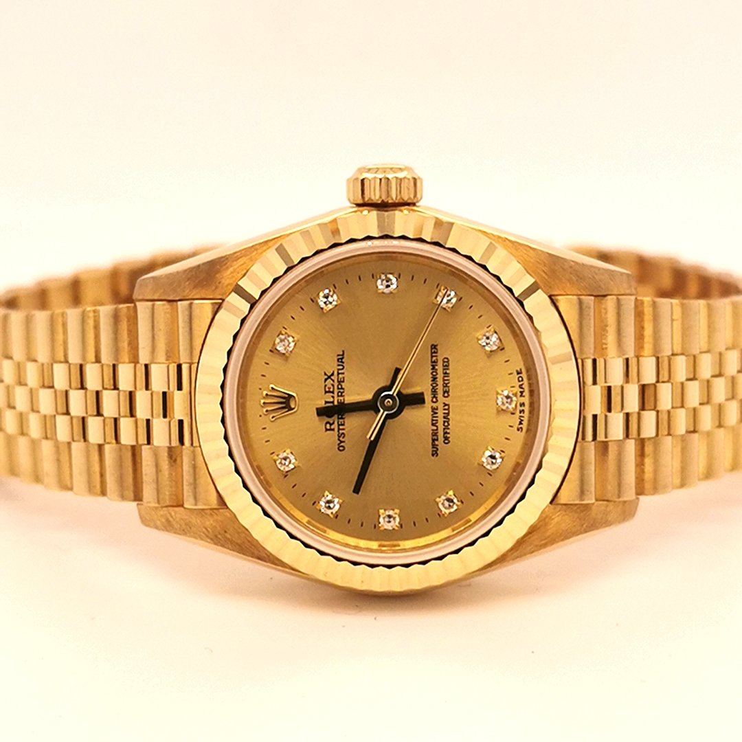 Ladies Rolex Perpetual Oyster wristwatch