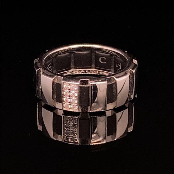 Chaumet 'Class One' diamond set band ring