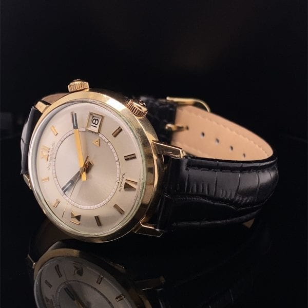 Jaeger-le-coultre Memovox strap watch