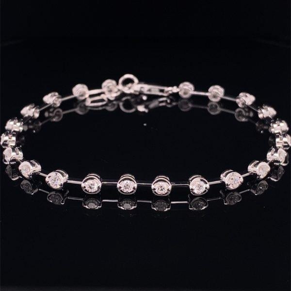 Diamond set bracelet